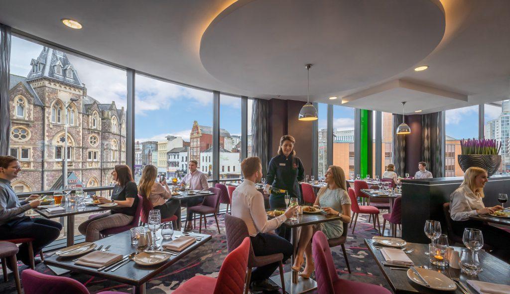 Clayton Hotel Cardiff Restaurant