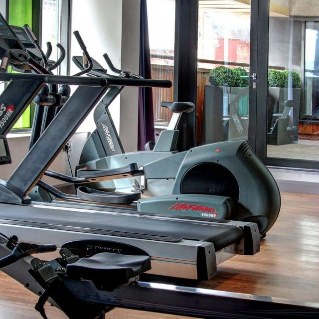 Fitness Suite at Clayton Hotel Cardiff