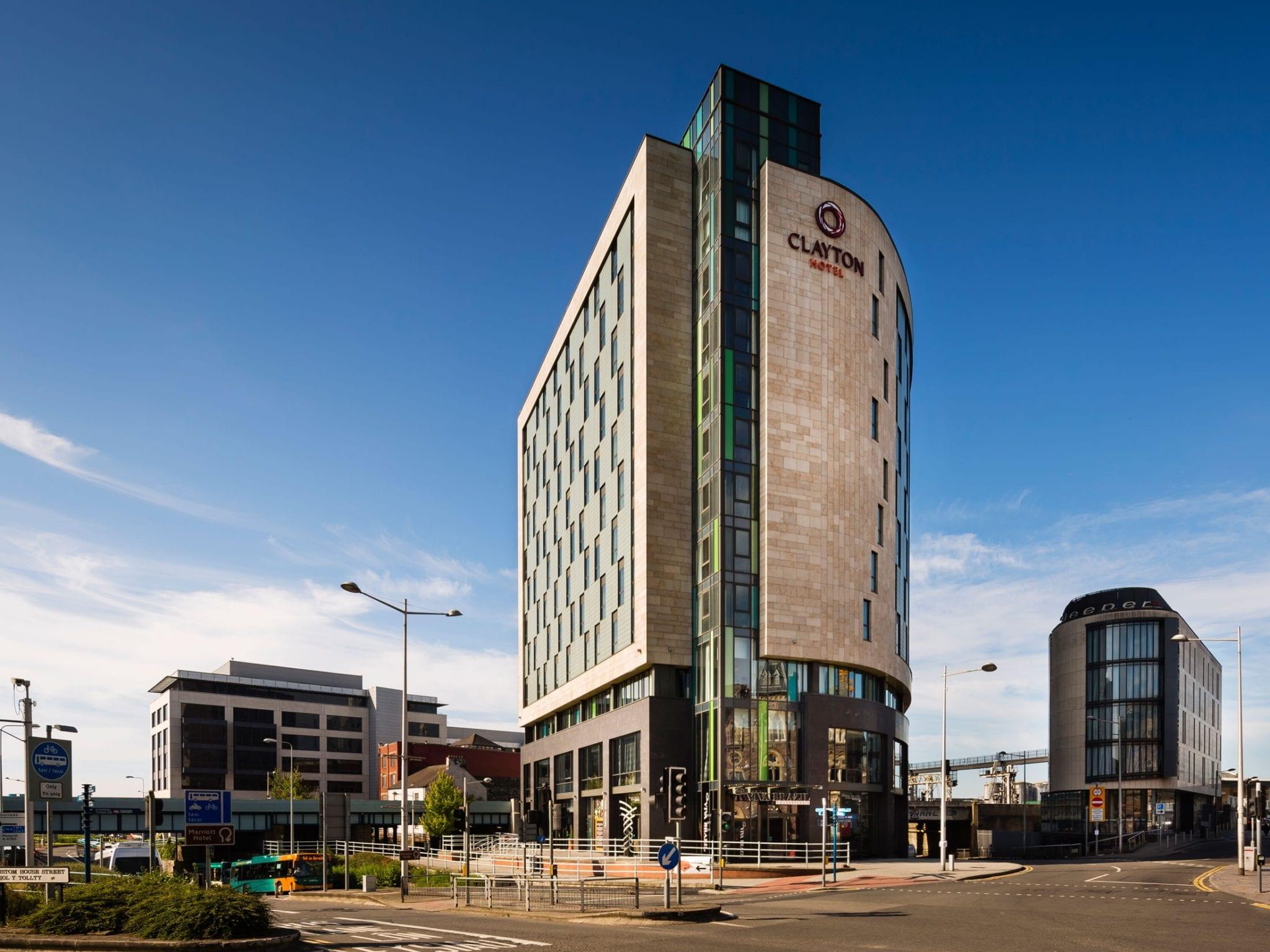 Hotel Exterior: 4 Star Clayton Hotel Cardiff