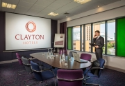 boardroom meeting Clayton Hotel Cardiff