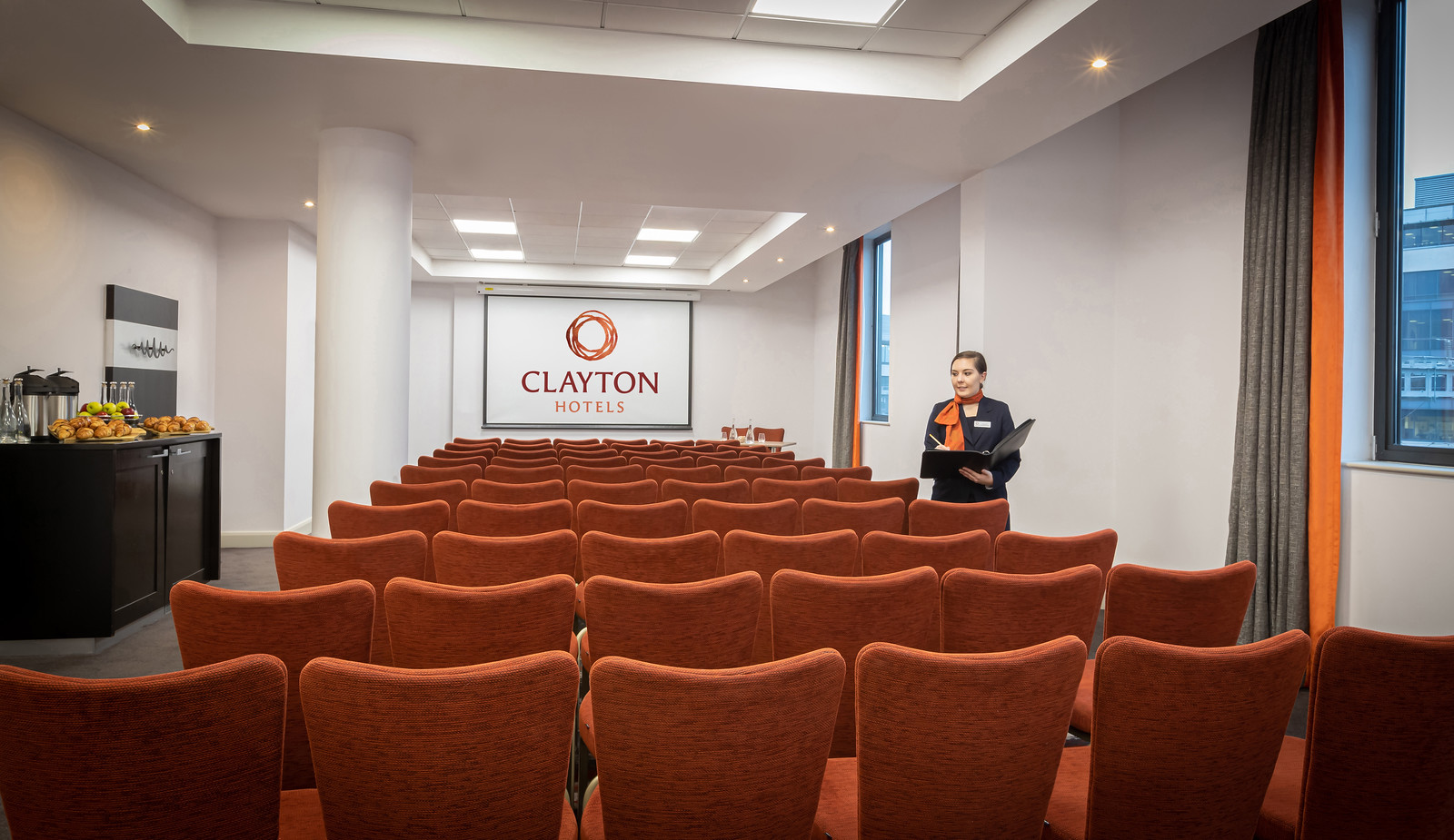 Theatre style meeting room in cardiff