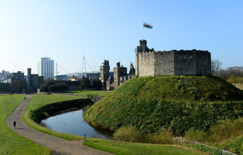 Cardiff Castle South Wales